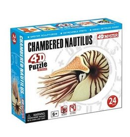 4D Chambered Nautilus 4D Puzzle/Figure