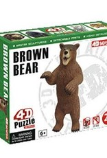 4D Brown Bear 4D Puzzle/Figure