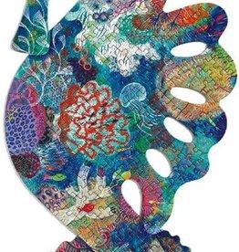 DJECO Sea Horse Puzz'Art Shaped Jigsaw Puzzle 350 PCS