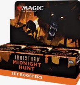 Wizards of the Coast Magic the Gathering: Innistrad Midnight Hunt: Set Booster Box