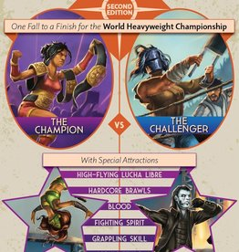 NDP Design World Wide Wrestling RPG 2e