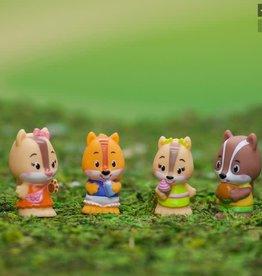 Fat Brain Toys Timber Tots Nutnut Family set of 4