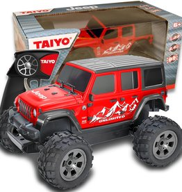 Thin Air Brands Taiyo RC Jeep Rubicon Unlimited (Red) 1:22 scale