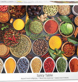 Eurographics Inc Spicy Table 1000pc Puzzle