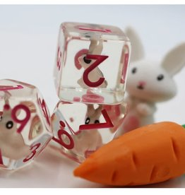 Foam Brain Games Backyard Bunny Poly 7 Dice Set