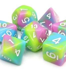 Foam Brain Games Pastel Punk Poly 7 Dice Set