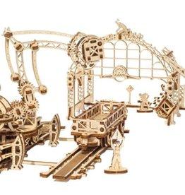 Ugears UGears Mechanical Town Rail Manipulator