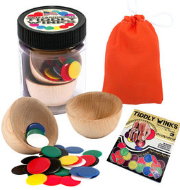 Channel Craft Tiddly Winks Jar with Pouch