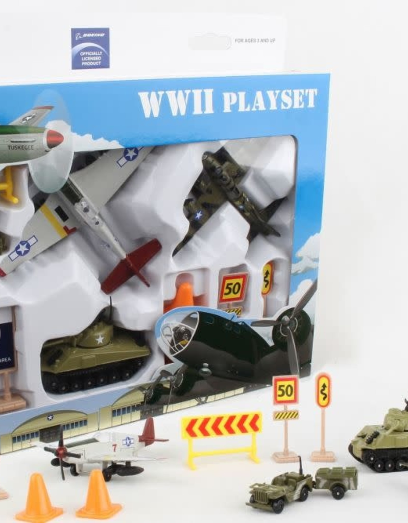 Daron Worldwide Trading Boeing WWII Playset