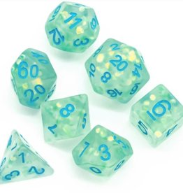 Foam Brain Games Komorebi Poly 7 Dice Set