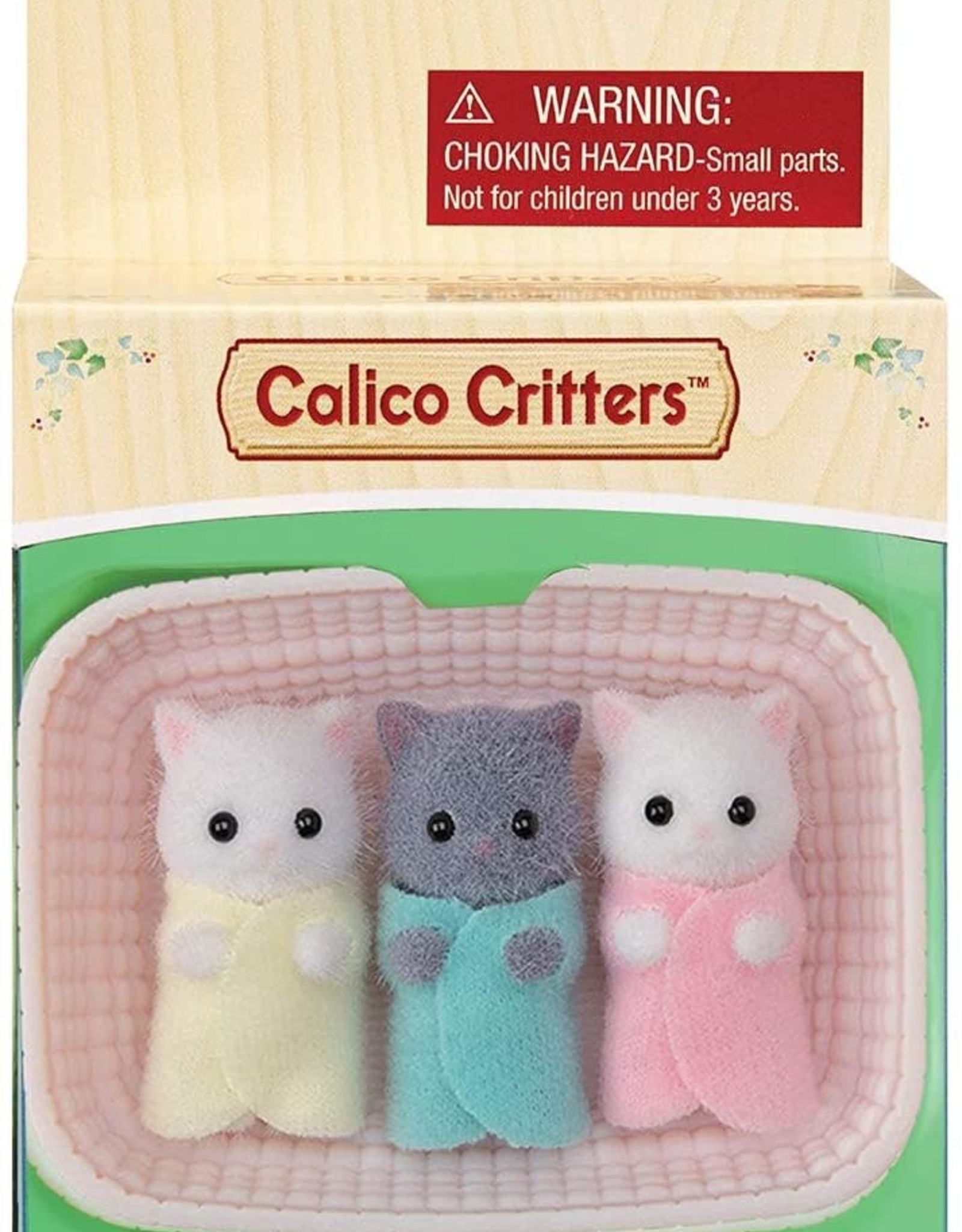 Calico Critters: Persian Cat Triplets