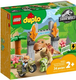 LEGO LEGO T.Rex and Triceratops Dinosaur Breakout