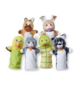 Melissa & Doug Pet Buddies Hand Puppets