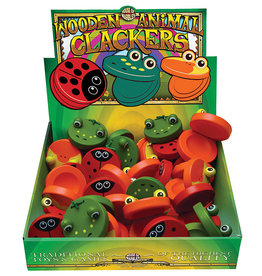 House of Marbles Wooden Animal Clackers