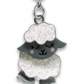 Charm It Swivel Glitter Sheep Charm