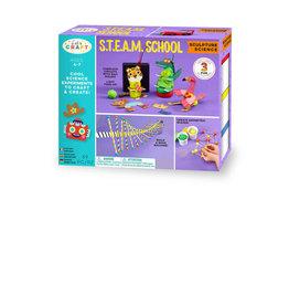 Let's Craft Steam School Sculpture Science