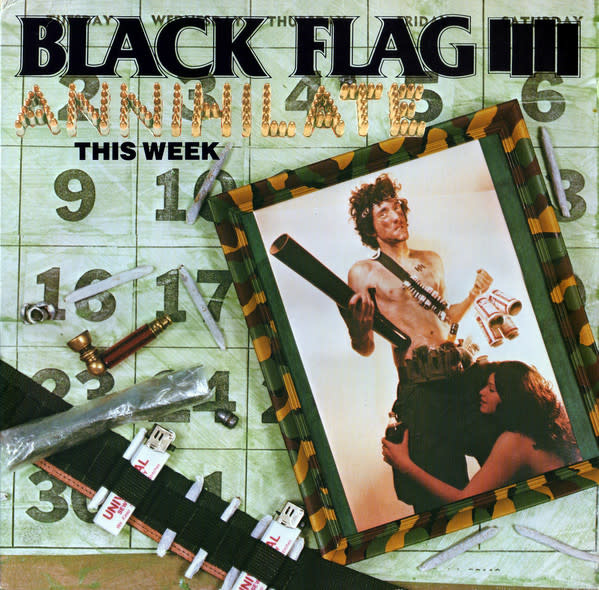 Rock/Pop Black Flag - Annihilate This Week