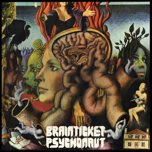 Krautrock Brainticket - Psychonaut (Green Vinyl)
