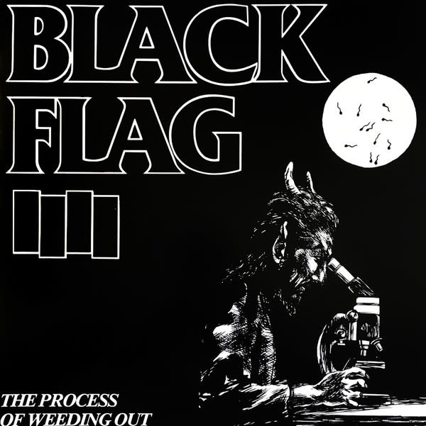 Rock/Pop Black Flag - The Process Of Weeding Out