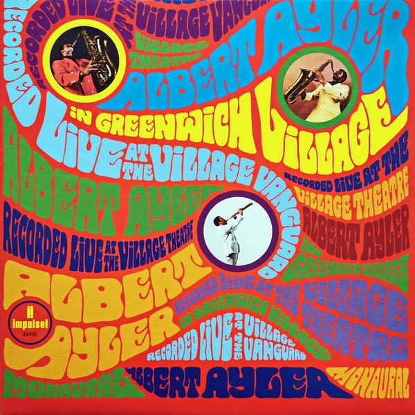 Jazz Albert Ayler - In Greenwich Village (Price Reduced: corner crease)