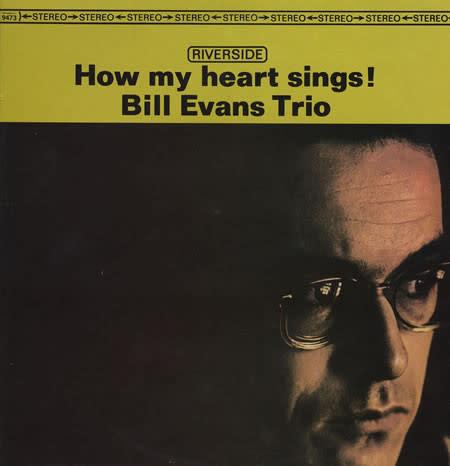 Jazz Bill Evans Trio - How My Heart Sings! (Price Reduced: corner crease)