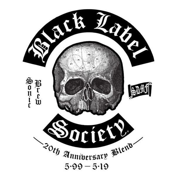 Metal Black Label Society - Sonic Brew (Blue, Black & Silver Vinyl)
