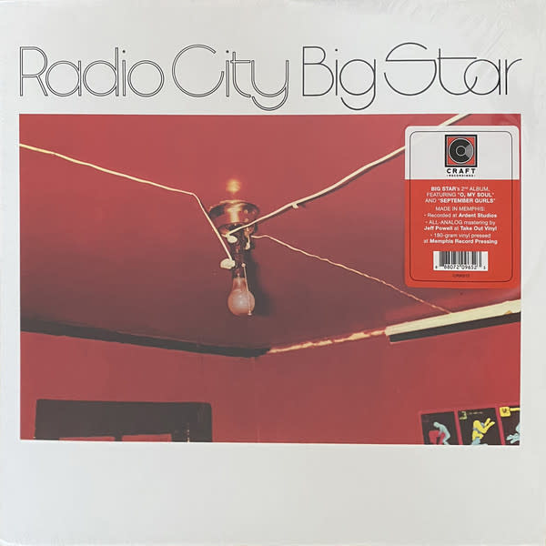 Rock/Pop Big Star - Radio City