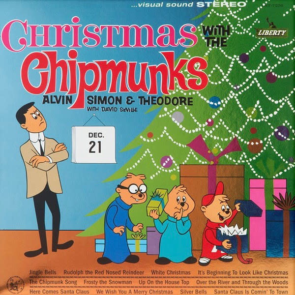 Christmas Christmas With The Chipmunks - Alvin, Simon & Theodore With David Seville