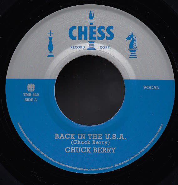 Rock/Pop Chuck Berry - Back In The U.S.A. b/w Memphis, Tennessee