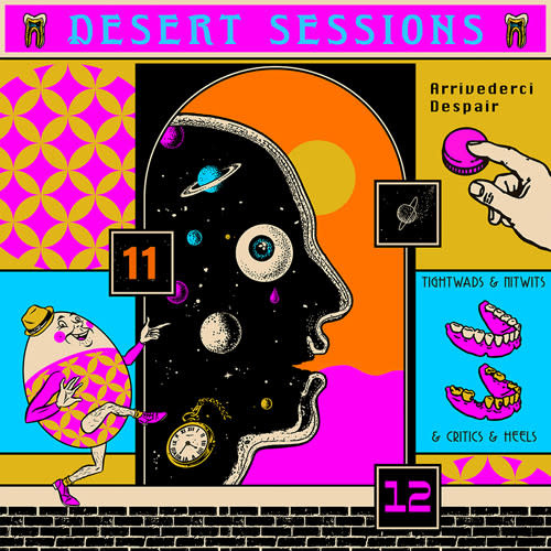 Rock/Pop Desert Sessions - Vol. 11 & 12