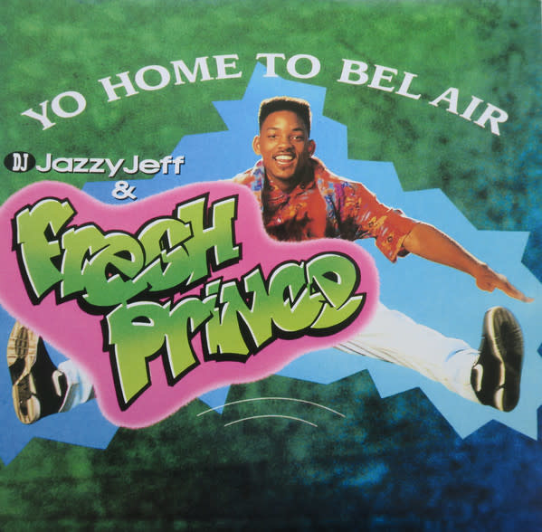 Soundtracks DJ Jazzy Jeff & The Fresh Prince - Yo Home To Bel Air b/w Parents Just Don't Understand (Pink Vinyl)