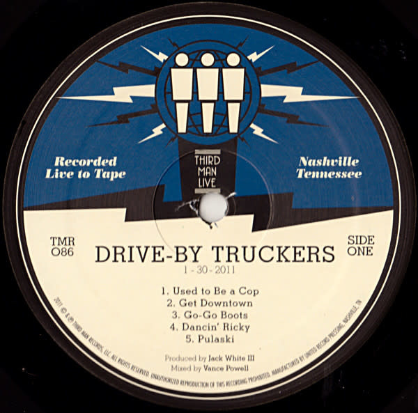 Rock/Pop Drive-By Truckers - Third Man Live 01-30-2010