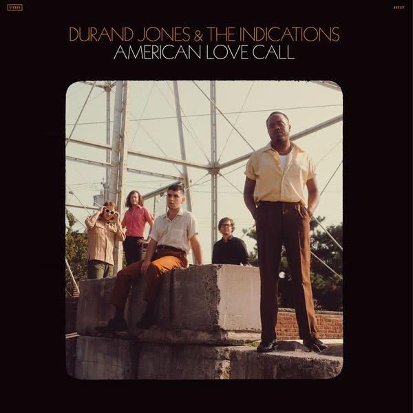 R&B/Soul/Funk Durand Jones & The Indications - American Love Call (Orange Vinyl)