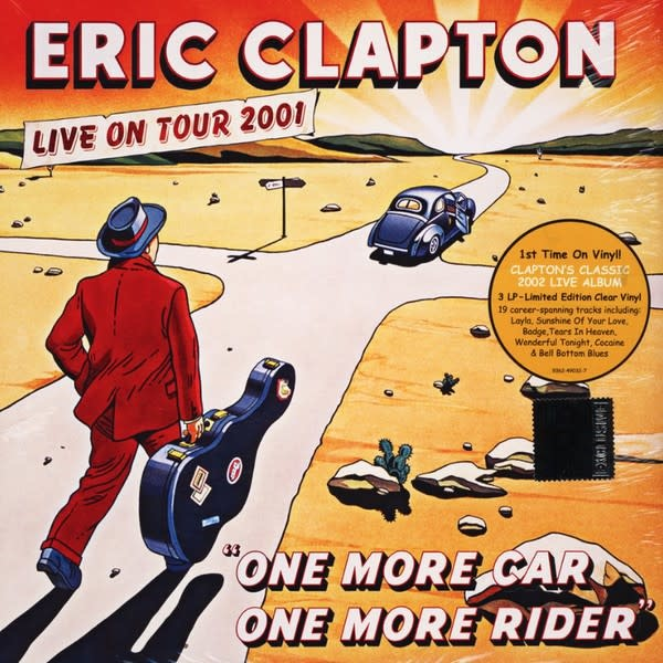 Rock/Pop Eric Clapton - One More Car, One More Rider (3LP Clear Vinyl)