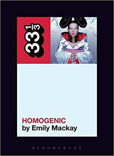 33 1/3 Series 33 1/3 - #127 - Bjork's Homogenic - Emily Mackay
