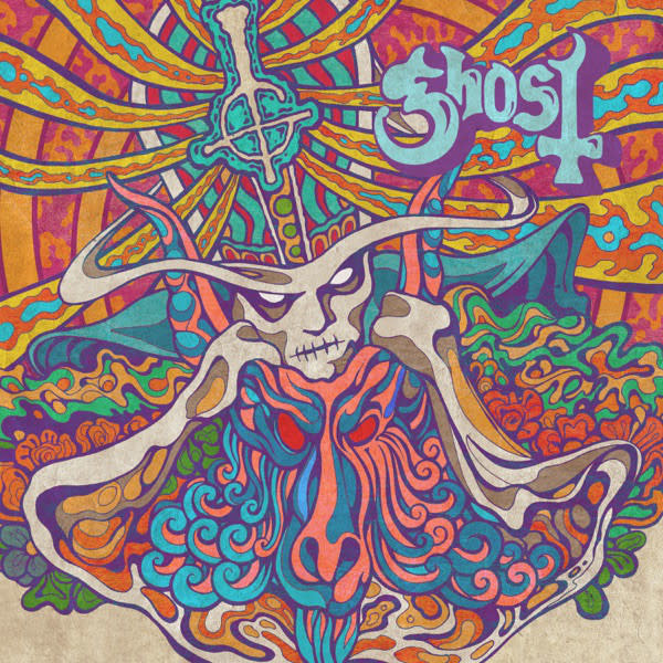 Metal Ghost - Kiss the Go-Goat b/w Mary on a Cross