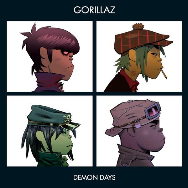 Rock/Pop Gorillaz - Demon Days