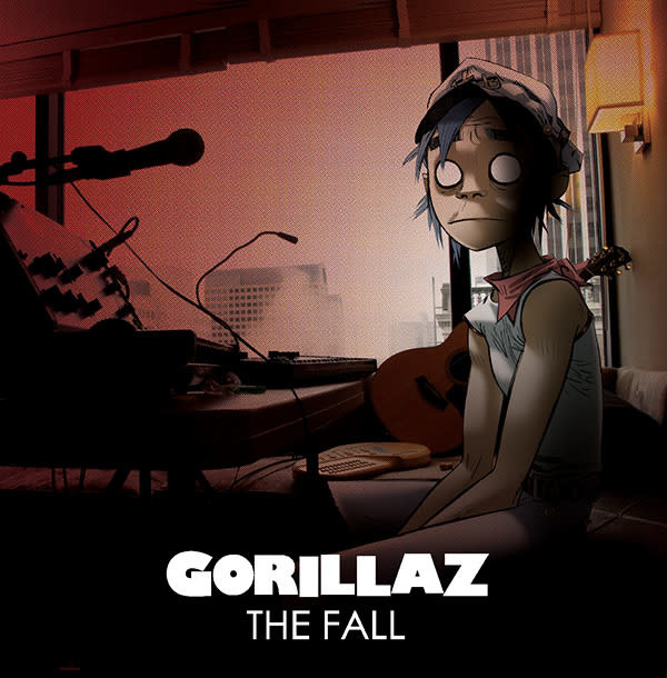 Rock/Pop Gorillaz - The Fall (Green Vinyl)