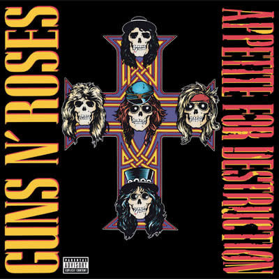 Rock/Pop Guns N' Roses - Appetite For Destruction