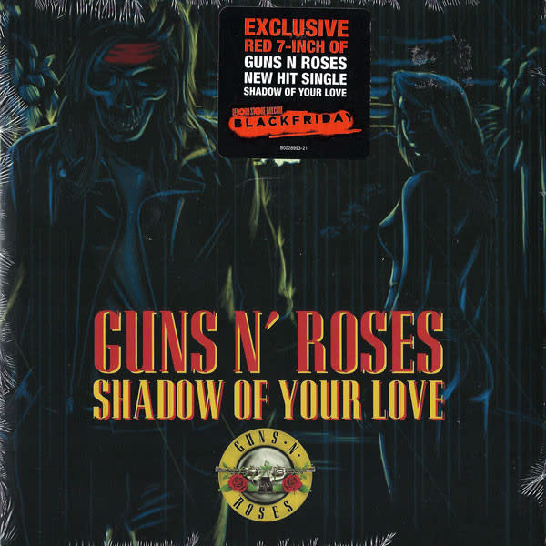 Rock/Pop Guns N' Roses - Shadow Of Your Love b/w Move To The City (Acoustic) (Red Vinyl)