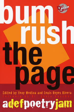 Poetry & Lyrics Bum Rush The Page - Edited by Tony Medina and Louis Rivera