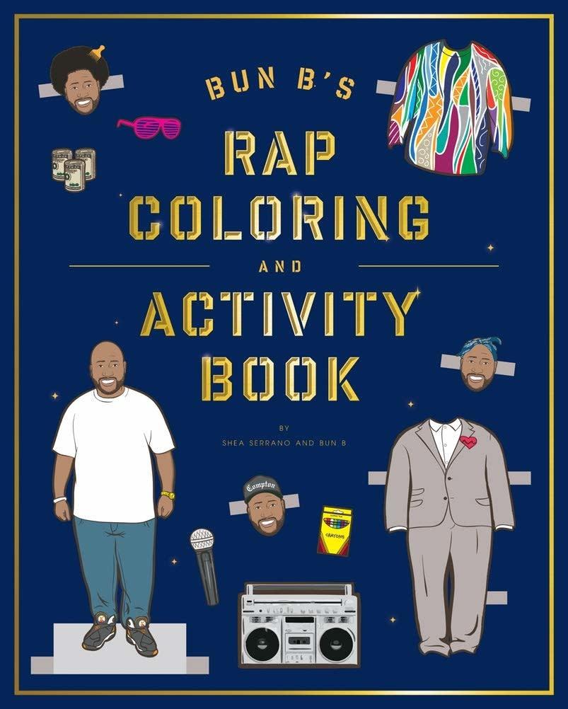 Gift Bun B's Rap Coloring & Activity Book