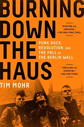 About Music Burning Down The Haus - Tim Mohr
