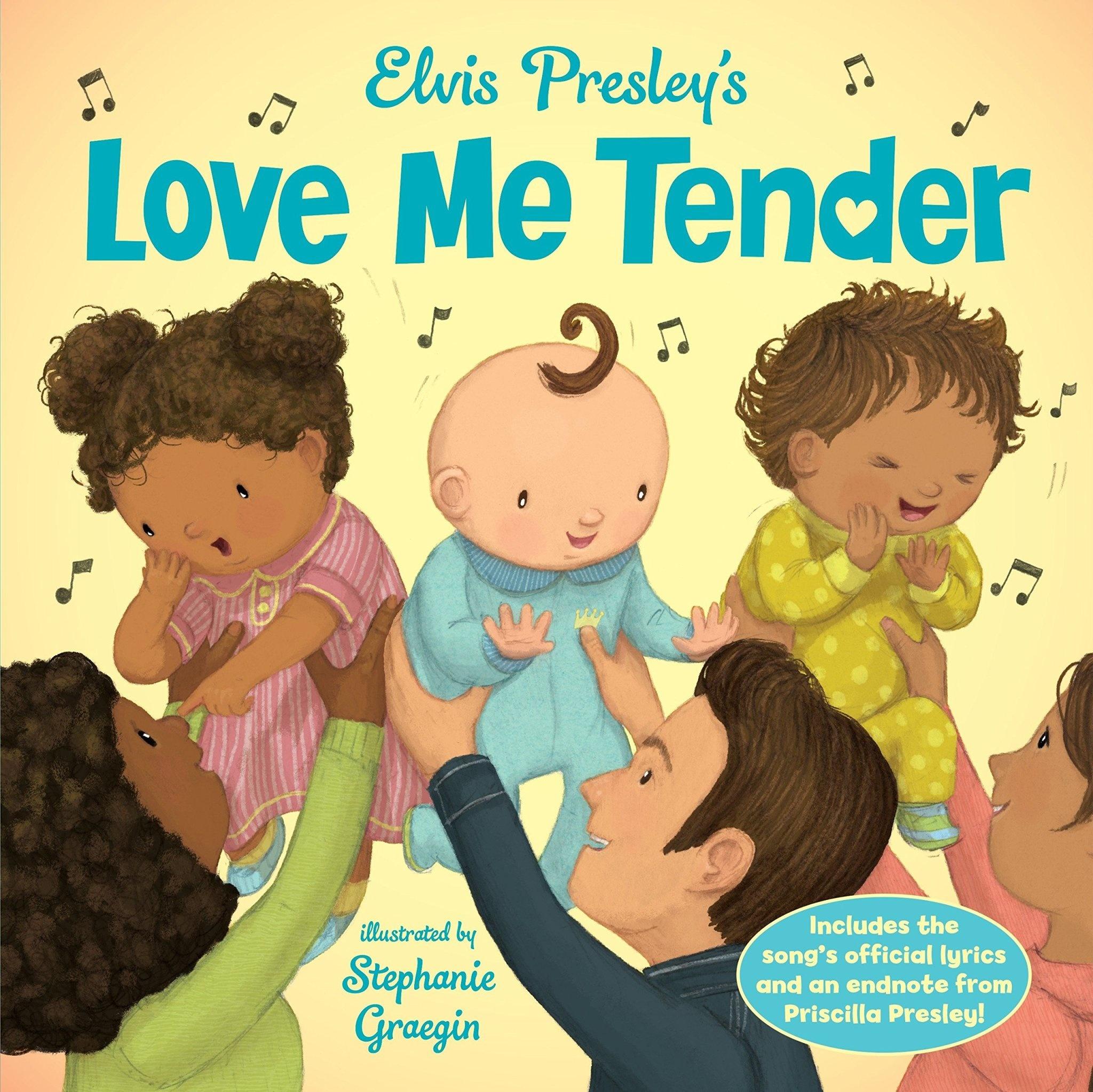 Kids Elvis Presley's Love Me Tender - Stephanie Graegin (Illustrator)