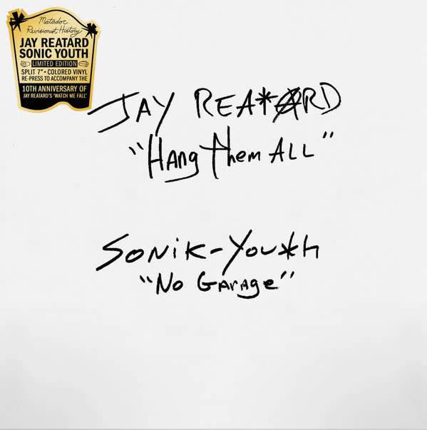 Rock/Pop Jay Reatard / Sonic Youth - Hang Them All / No Garage (Black & White Vinyl)