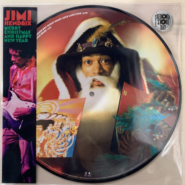 Christmas Jimi Hendrix - Merry Christmas And Happy New Year (Picture Disc)