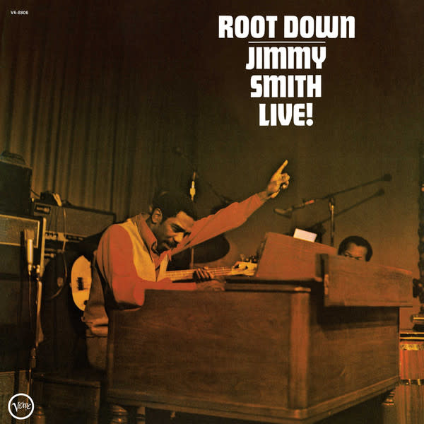 Jazz Jimmy Smith - Root Down: Live! (Price Reduced: minor crease on cover)