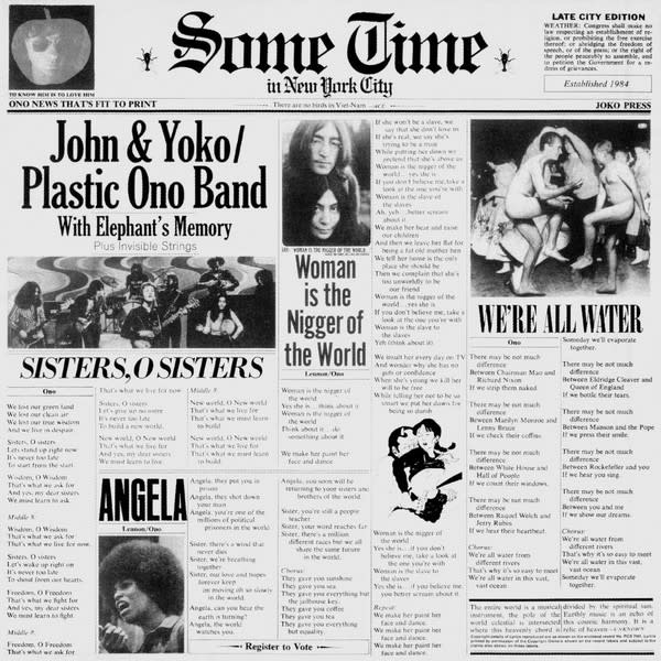Rock/Pop John & Yoko / Plastic Ono Band with Elephant's Memory - Some Time In New York City