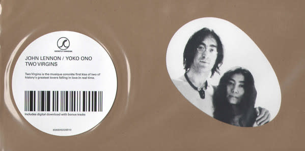 Rock/Pop John Lennon / Yoko Ono - Two Virgins