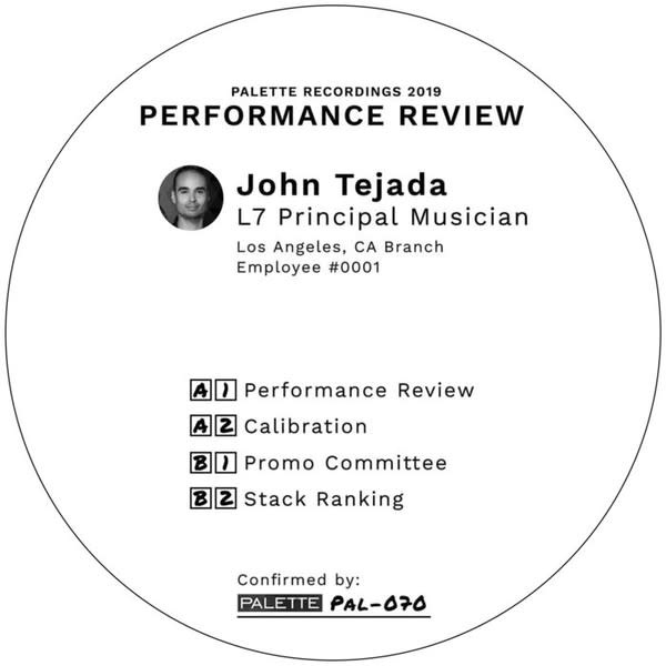 Electronic John Tejada - Performance Review